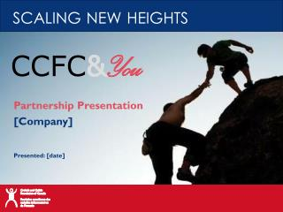 Partnership Presentation [Company] Presented: [date]