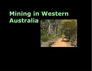 Mining in Western Australia