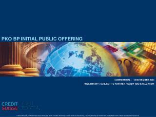 PKO BP INITIAL PUBLIC OFFERING
