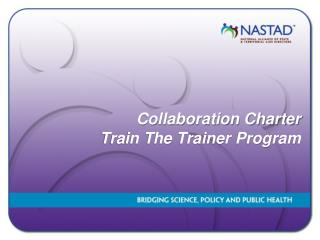 Collaboration Charter  Train The Trainer Program