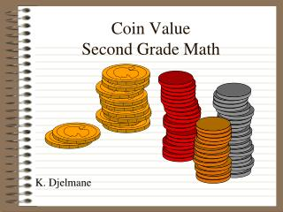 Coin Value Second Grade Math