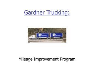 Gardner Trucking: