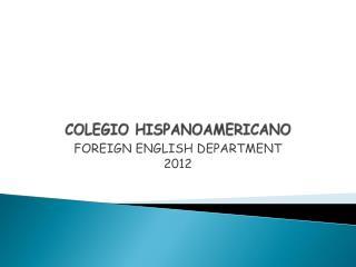 COLEGIO HISPANOAMERICANO