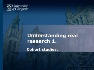 Understanding real research 1.