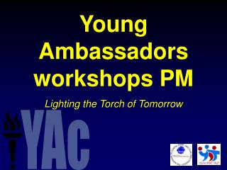 Young Ambassador workshop - afternoon session