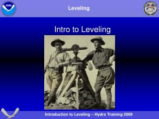 Intro to Leveling