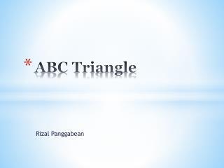 ABC Triangle