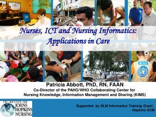 Nurses and ICT Nursing