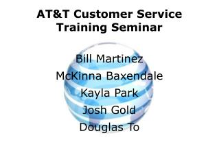 AT&T Customer  Service Training Seminar