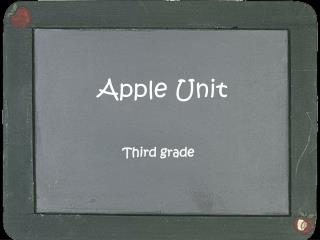 Apple Unit