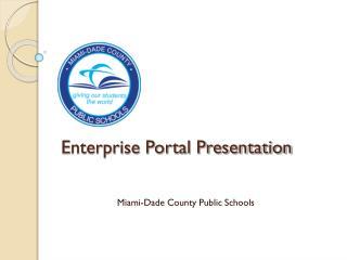 Enterprise Portal Presentation