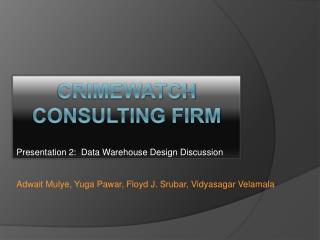 Crimewatch  Consulting Firm