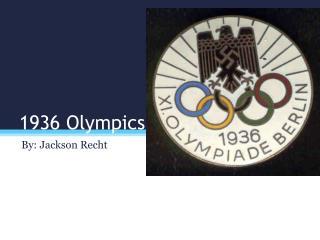 1 936 Olympics