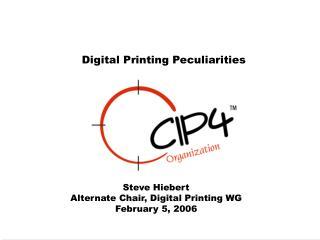 Digital Printing Peculiarities