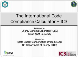 The International Code  Compliance Calculator ~ IC3
