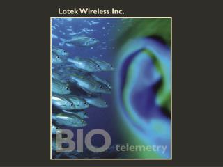 Lotek Wireless Inc.
