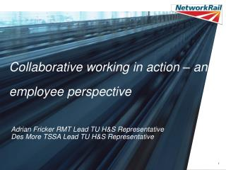 Collaborative working in action – an employee perspective