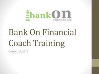 Bank On Financial Coach Training