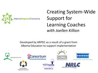 Creating System-Wide Support for Learning Coaches with  Joellen Killion