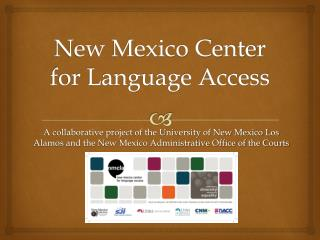 New Mexico Center for Language Access