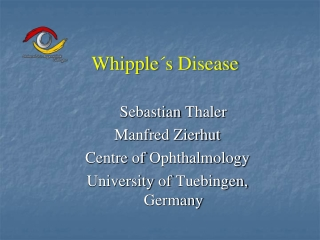 INFECTIOUS DISEASES CASE PRESENTATIONS