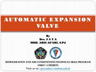 AUTOMATIC Expansion  Valve