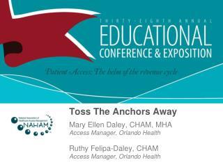 Toss The Anchors Away