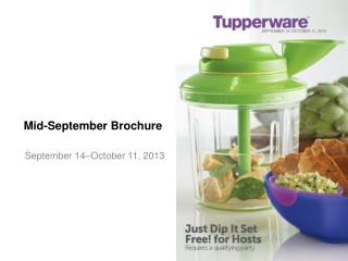 Mid-September Brochure