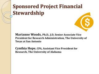Sponsored Project  Financial Stewardship