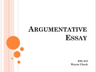 argumentative essay ads