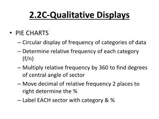 2.2C-Qualitative Displays