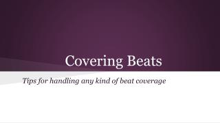 Covering Beats