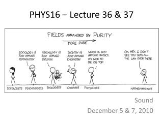 PHYS16 � Lecture  36 & 37