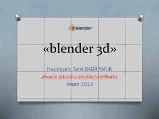 «blender 3d »
