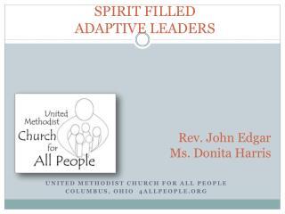 SPIRIT FILLED ADAPTIVE LEADERS