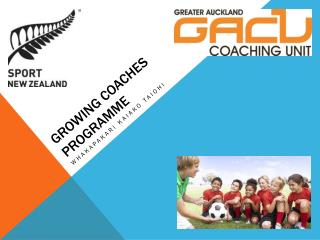 Growing Coaches Programme