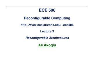 Complex Programmable Logic Device