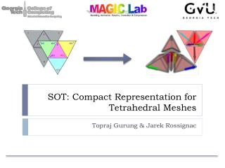 SOT: Compact Representation for Tetrahedral Meshes