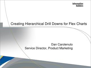 Creating Hierarchical Drill Downs for Flex Charts