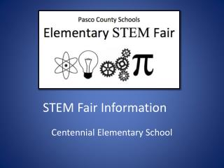 STEM Fair  Information