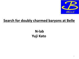 Search for doubly charmed baryons at Belle