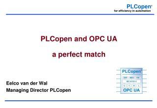 PLCopen and OPC UA a perfect match