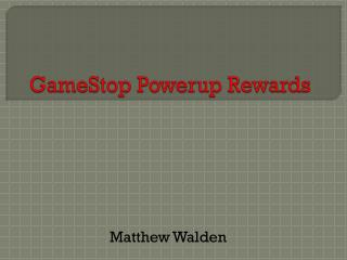 Game S top  Powerup  Rewards
