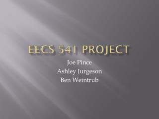 EECS 541 Project