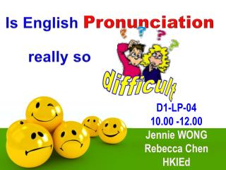 Is  English  Pronunciation really so