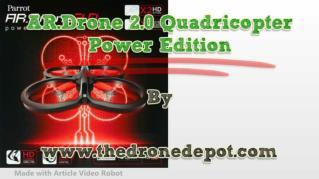 ppt 38007 AR Drone 2 0 Quadricopter Power Edition