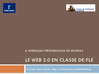 Le Web 2.0 en classe de FLE