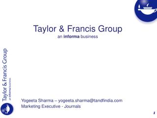 Taylor  Francis Group an informa business
