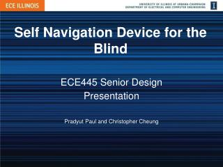 Self Navigation Device for the Blind