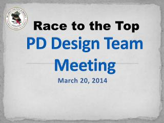 PD Design Team Meeting
